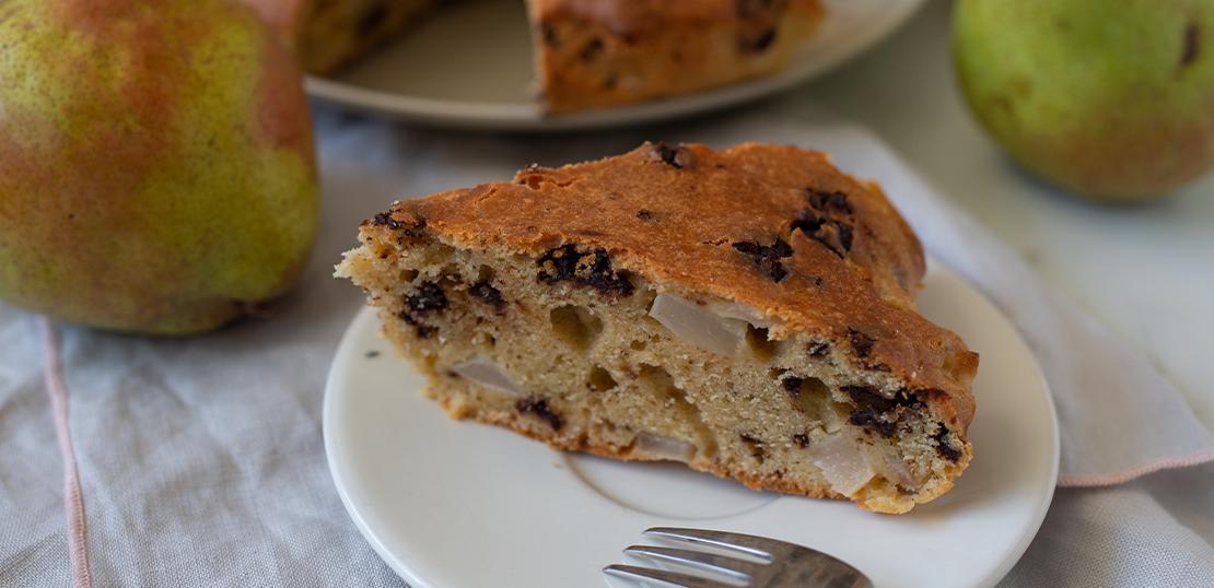 Armut Ve Çikolatalı Yoğurtlu Kek